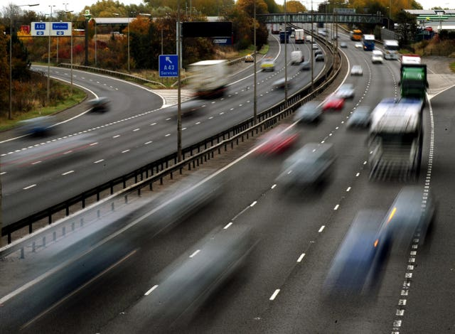 Traffic on motorway.