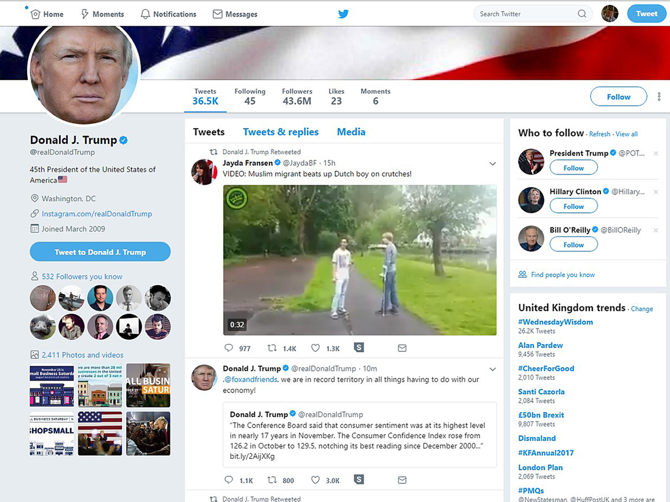 Twitter Drops 'Britain First' Leader and Other Alt-Right Accounts