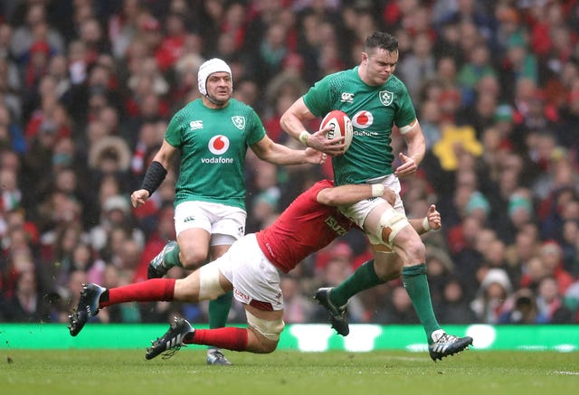 Wales had a firm grip on Ireland's playmakers