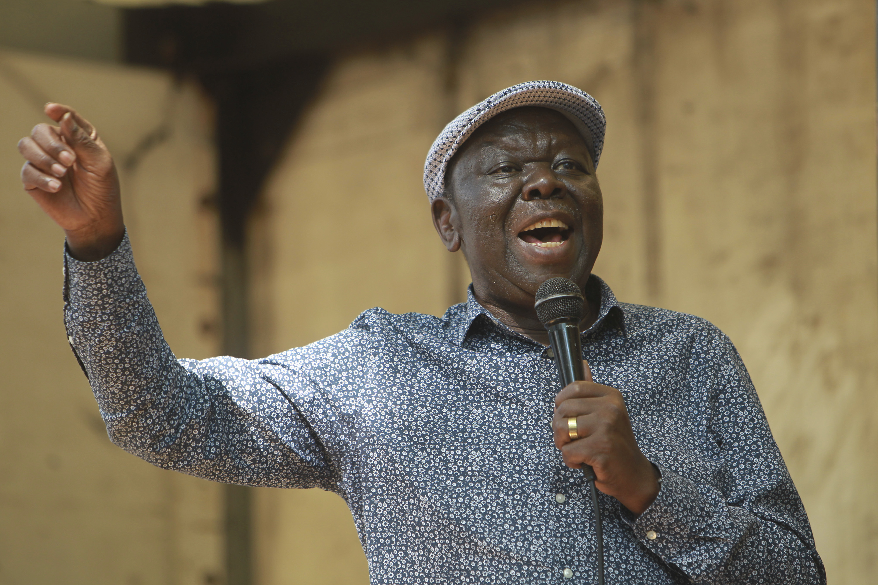 Zimbabwean opposition announces new leader after Tsvangirai's death