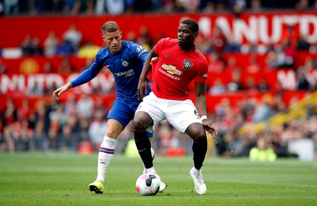 Paul Pogba provided two assists against Chelsea