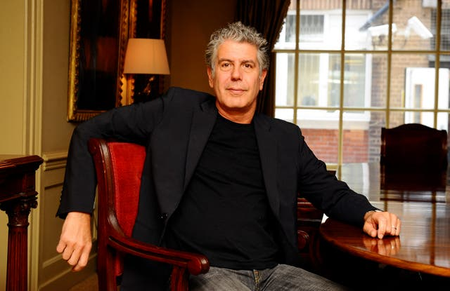 Anthony Bourdain photocall – London