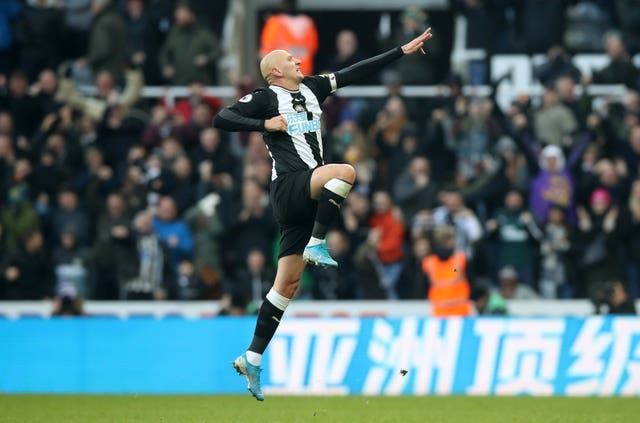 Jonjo Shelvey's late equaliser secured Newcastle a 2-2 draw which dented Manchester City's title bid