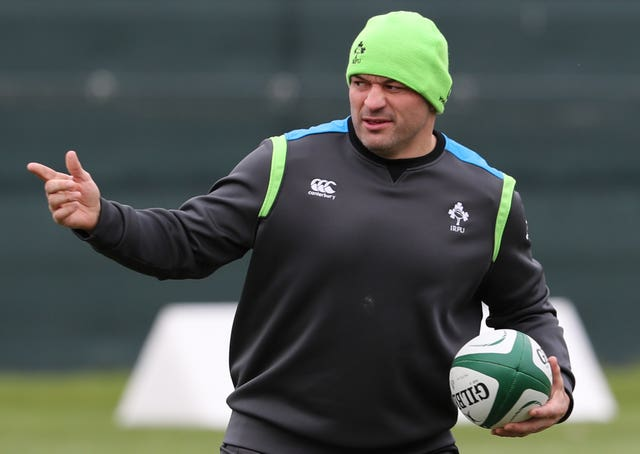 Ireland Training Session – NatWest 6 Nations – Carton House
