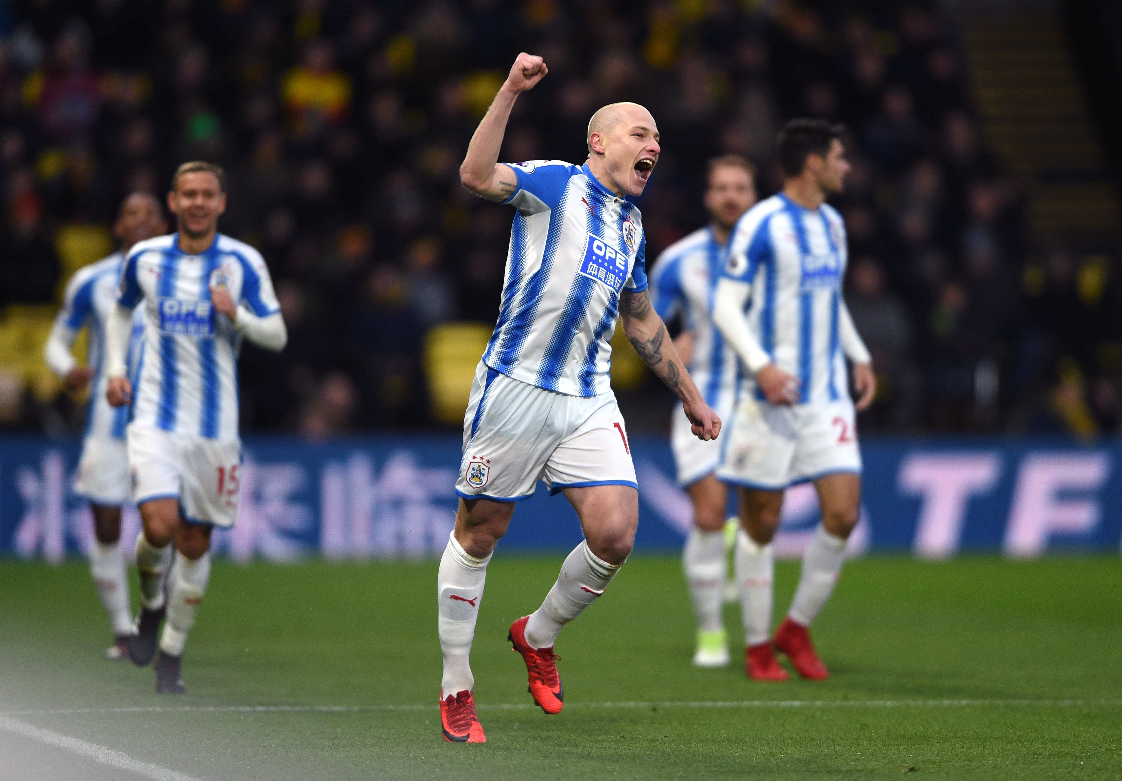 Mooy hurt in Huddersfield win