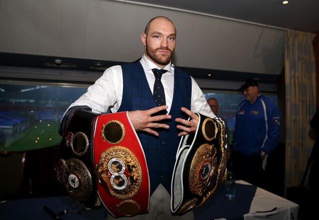 Tyson Fury, pictured, ended Wladimir Klitschko's long reign as world heavyweight champion (Simon Cooper/PA)