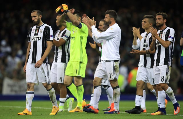 Juventus were dejected after losing the 2017 Champions League Final to Real Madrid