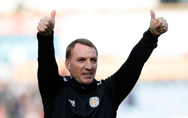 Brendan Rodgers has won five of his eight games since taking charge of Leicester
