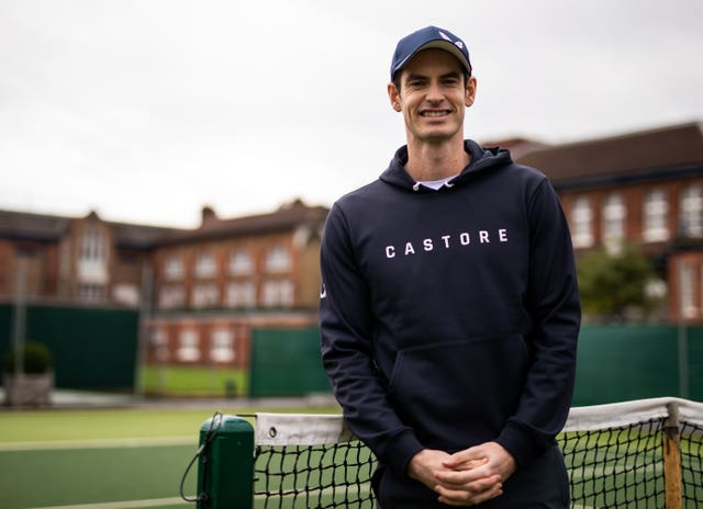 Andy Murray hopes to return to the court