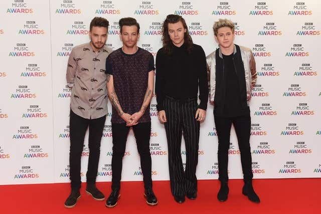 One Direction after Zayn Malik left the band (Joe Giddens/PA)