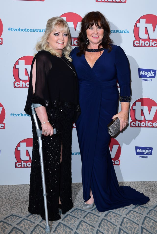 Linda Nolan and Coleen Nolan (Ian West/PA)