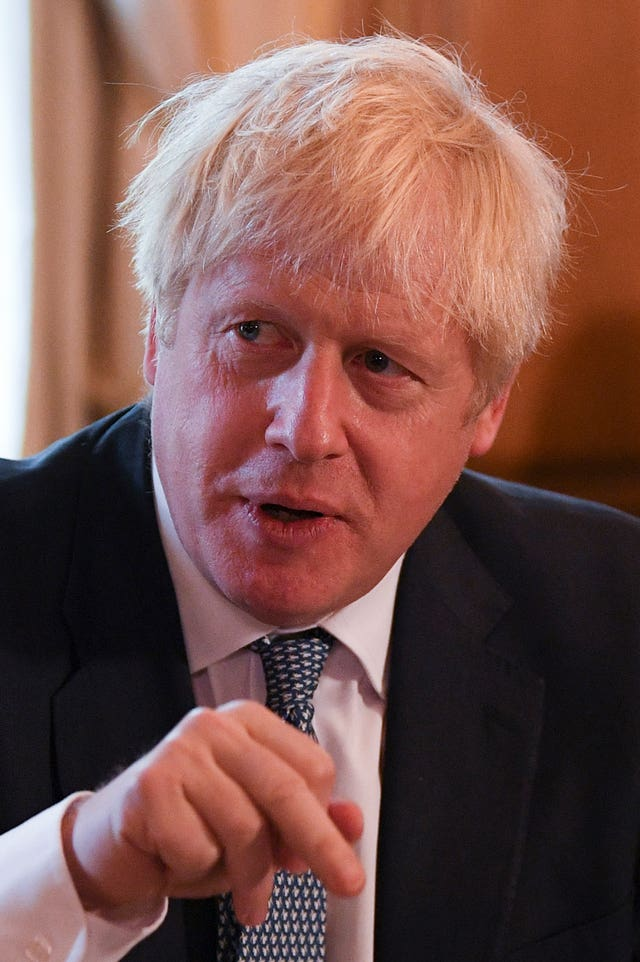 Boris Johnson holds roundtable on crime