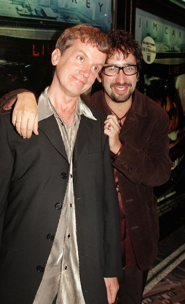 Frank Skinner and David Baddiel