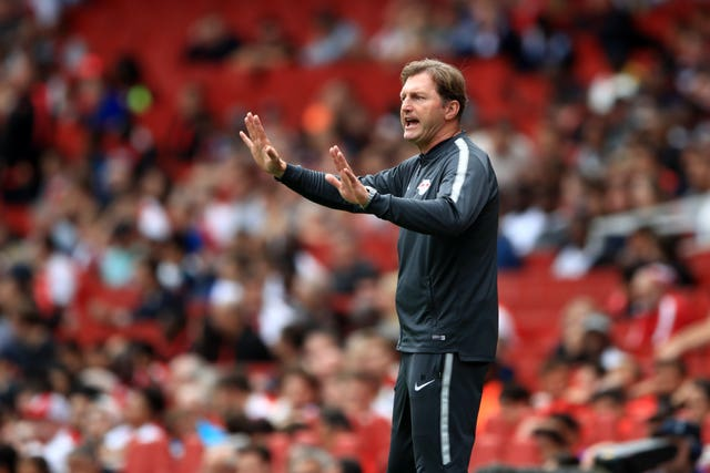 Southampton boss Ralph Hasenhuttl used to manage RB Leipzig