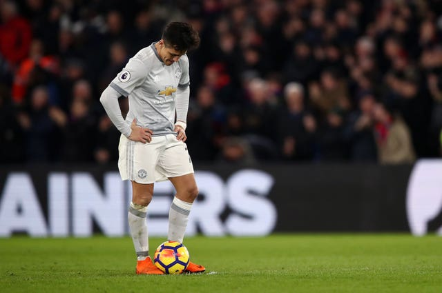 Manchester United's Alexis Sanchez has struggled so far