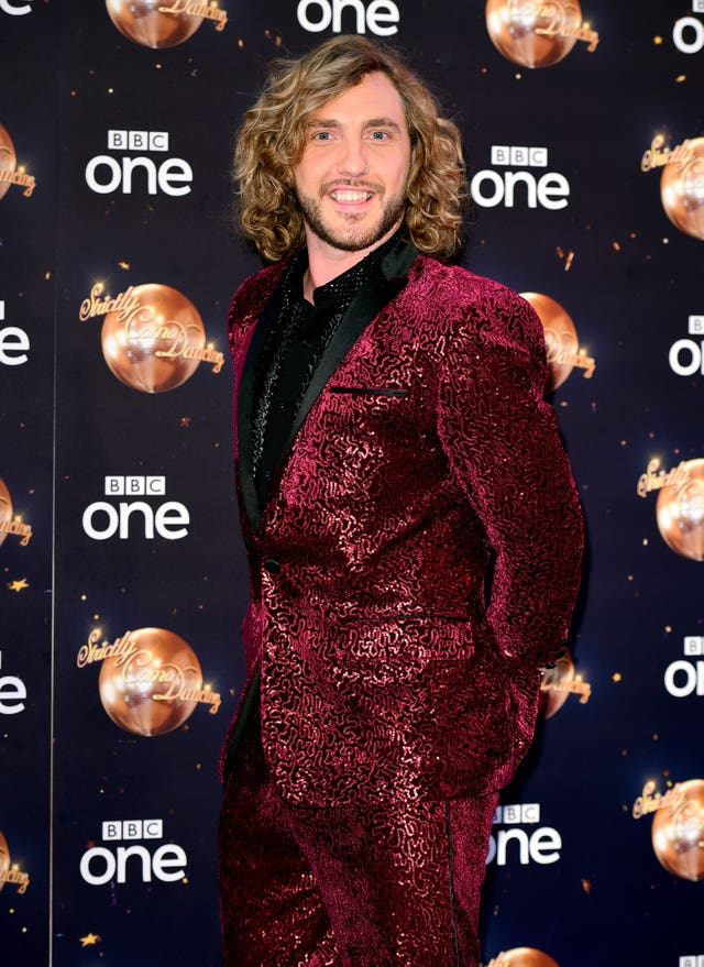 Seann Walsh at the Strictly Come Dancing Launch