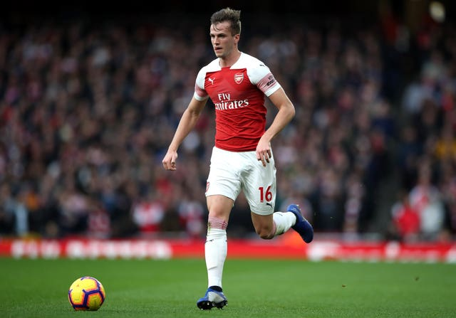 Rob Holding looks set to return to the first team fold after the international break