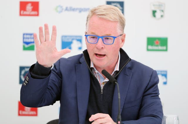 European Tour chief executive Keith Pelley came up with a compromise for Rory McIlroy's return following talks