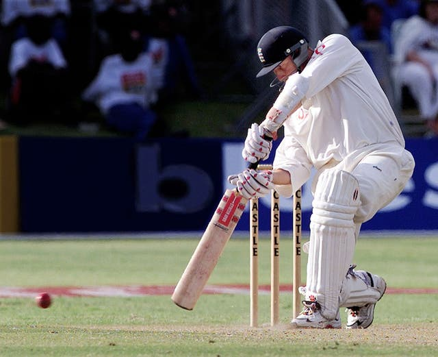 The definitive England opener of the 1990s, Michael Atherton.