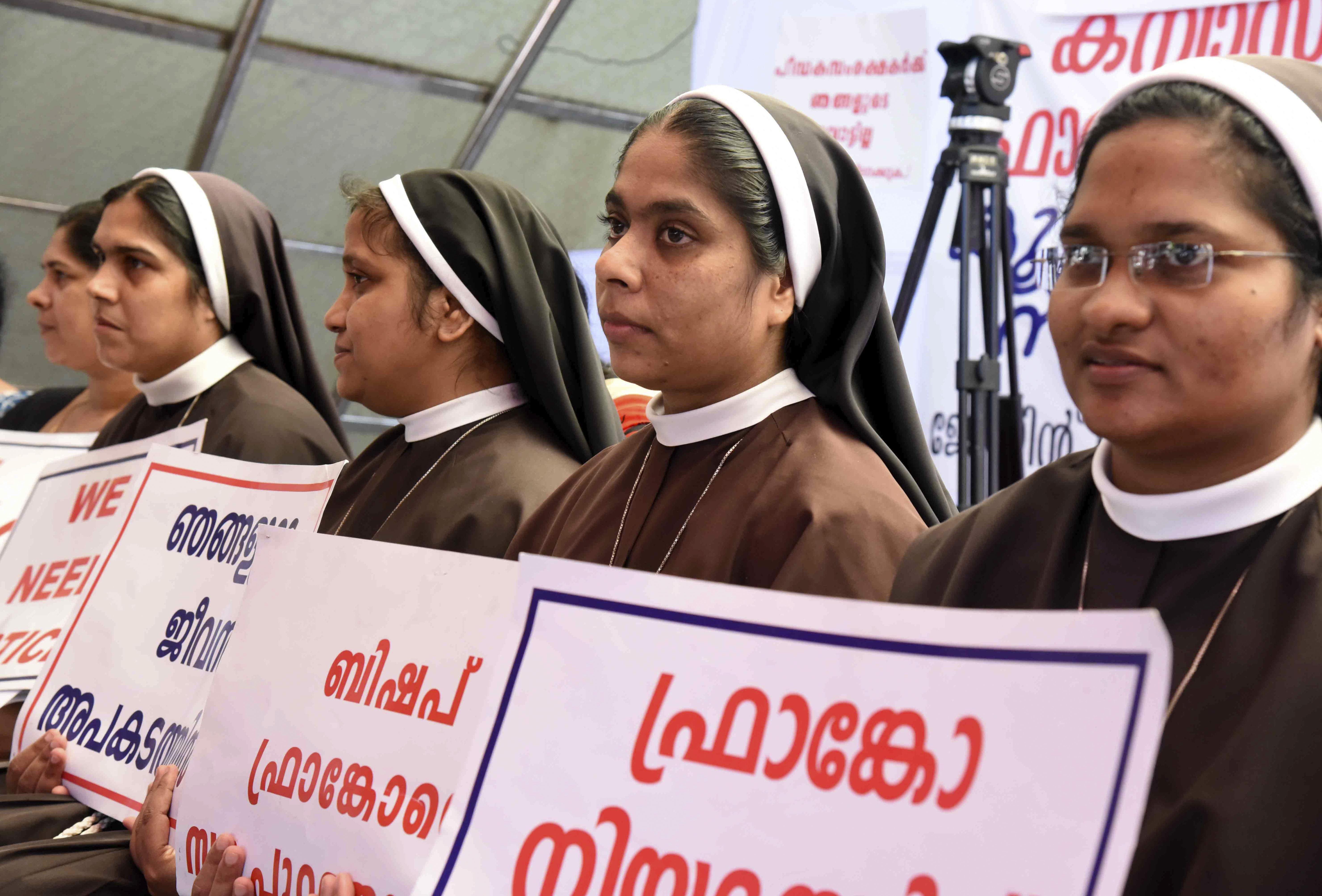 India Nun Protest