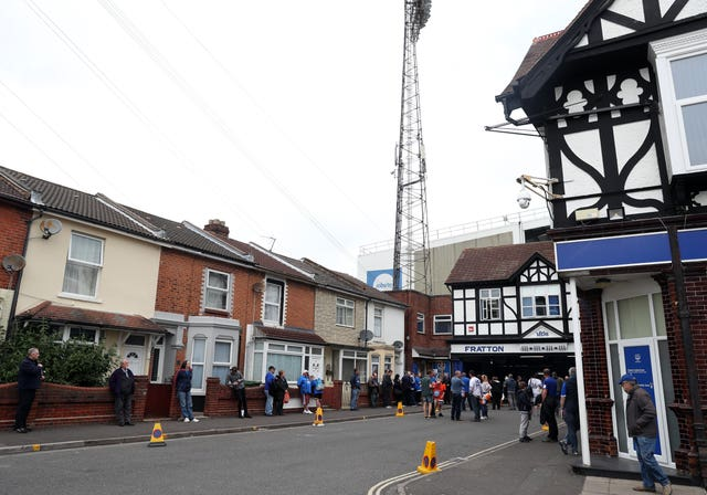 Portsmouth v Cheltenham Town – Sky Bet League Two – Fratton Park