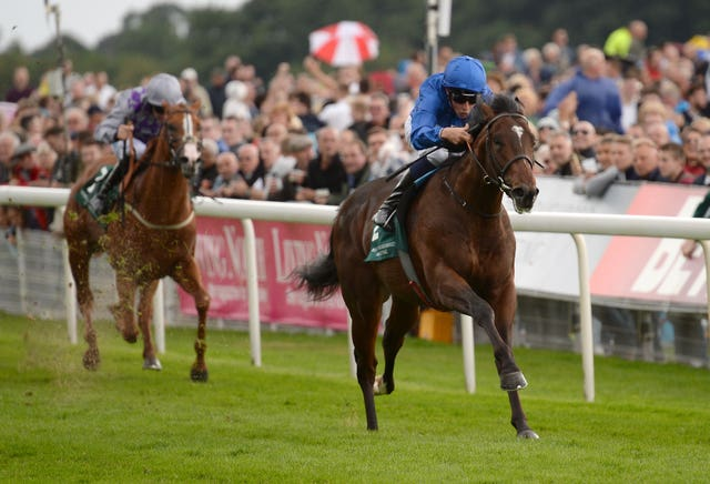 Blue Point won the Gimcrack as a two-year-old