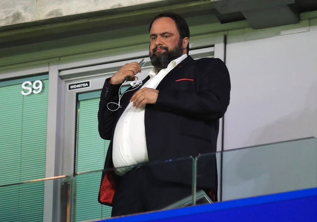 Nottingham Forest owner Evangelos Marinakis revealed on Tuesday that he had contracted coronavirus.
