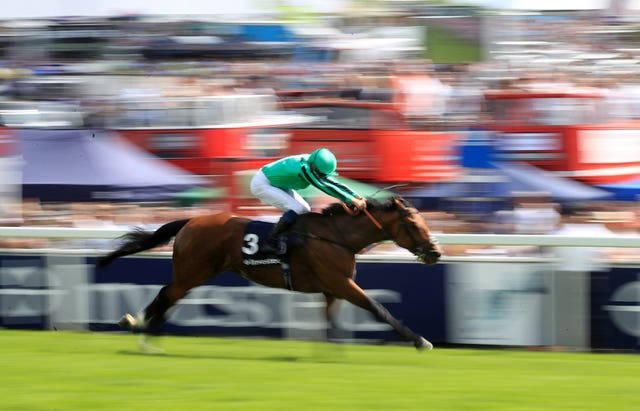 Century Dream streaks clear at Epsom