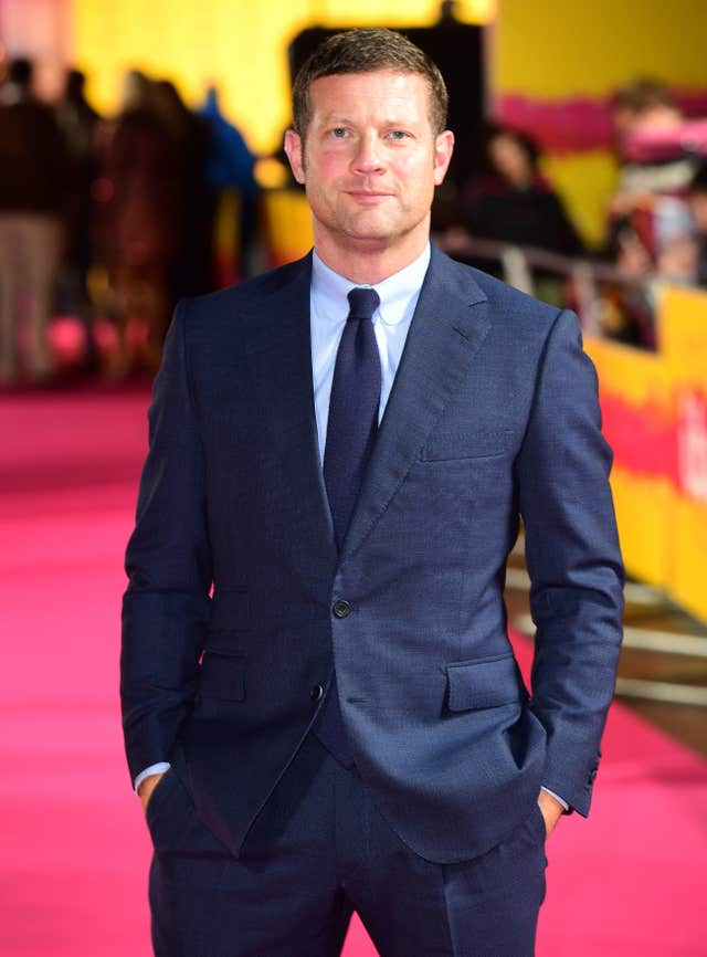 Awards host Dermot O'Leary