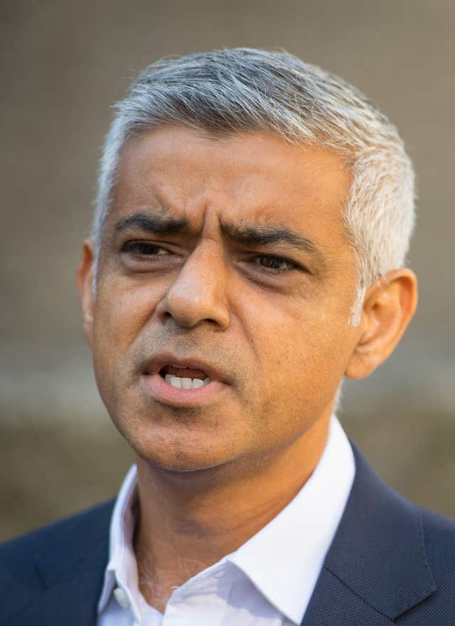 London Mayor Sadiq Khan, who wants to challenge the release of rapist John Worboys (Dominic Lipinski/PA)
