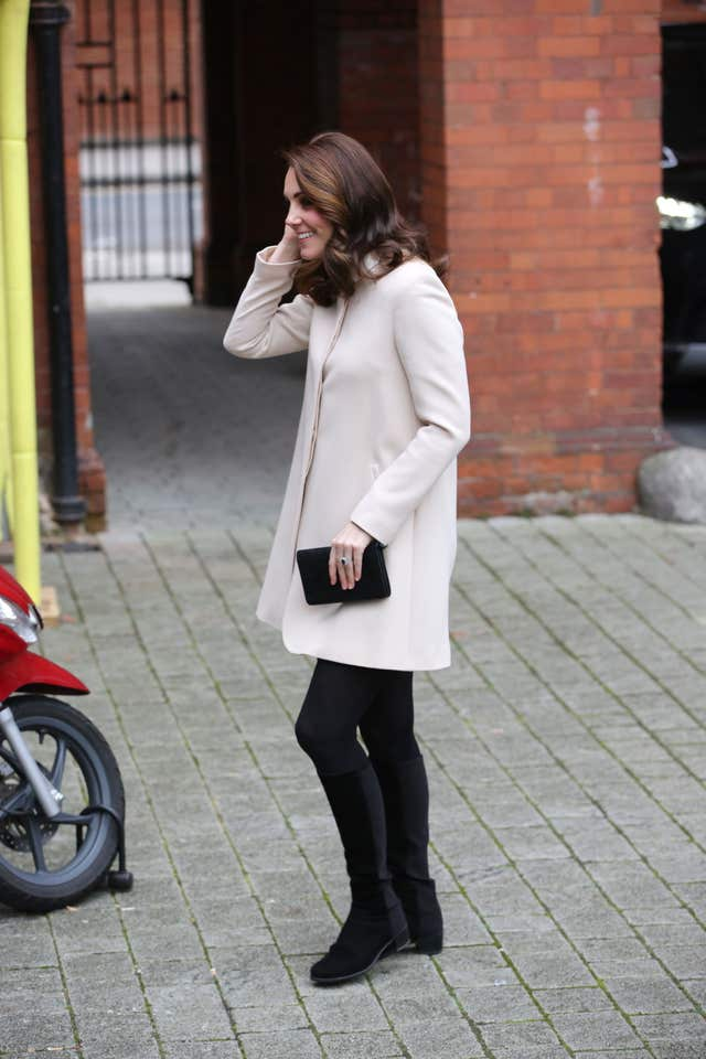 The Duchess of Cambridge visits children's centre