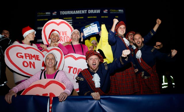 Lovehearts and Scots fancy dress
