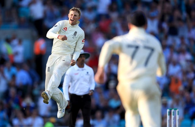 Root claimed a couple of wickets to help England to victory at the Oval