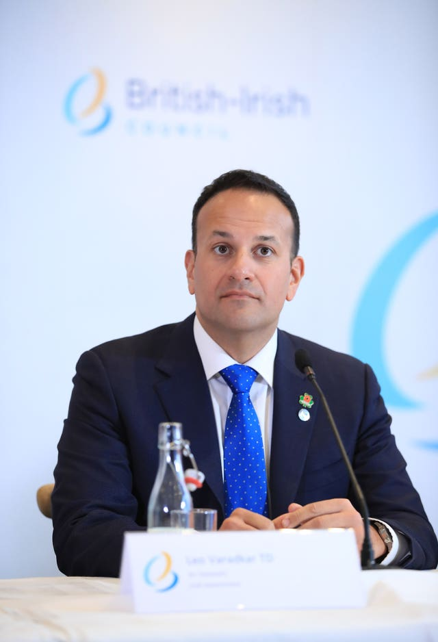 Leo Varadkar said a deal could be done in the next few weeks but 'lots of things can go wrong' (Peter Byrne/PA)