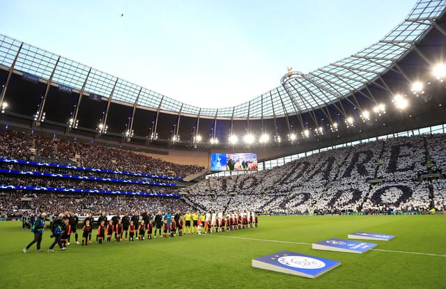 The Tottenham Hotspur Stadium is set to stage matches