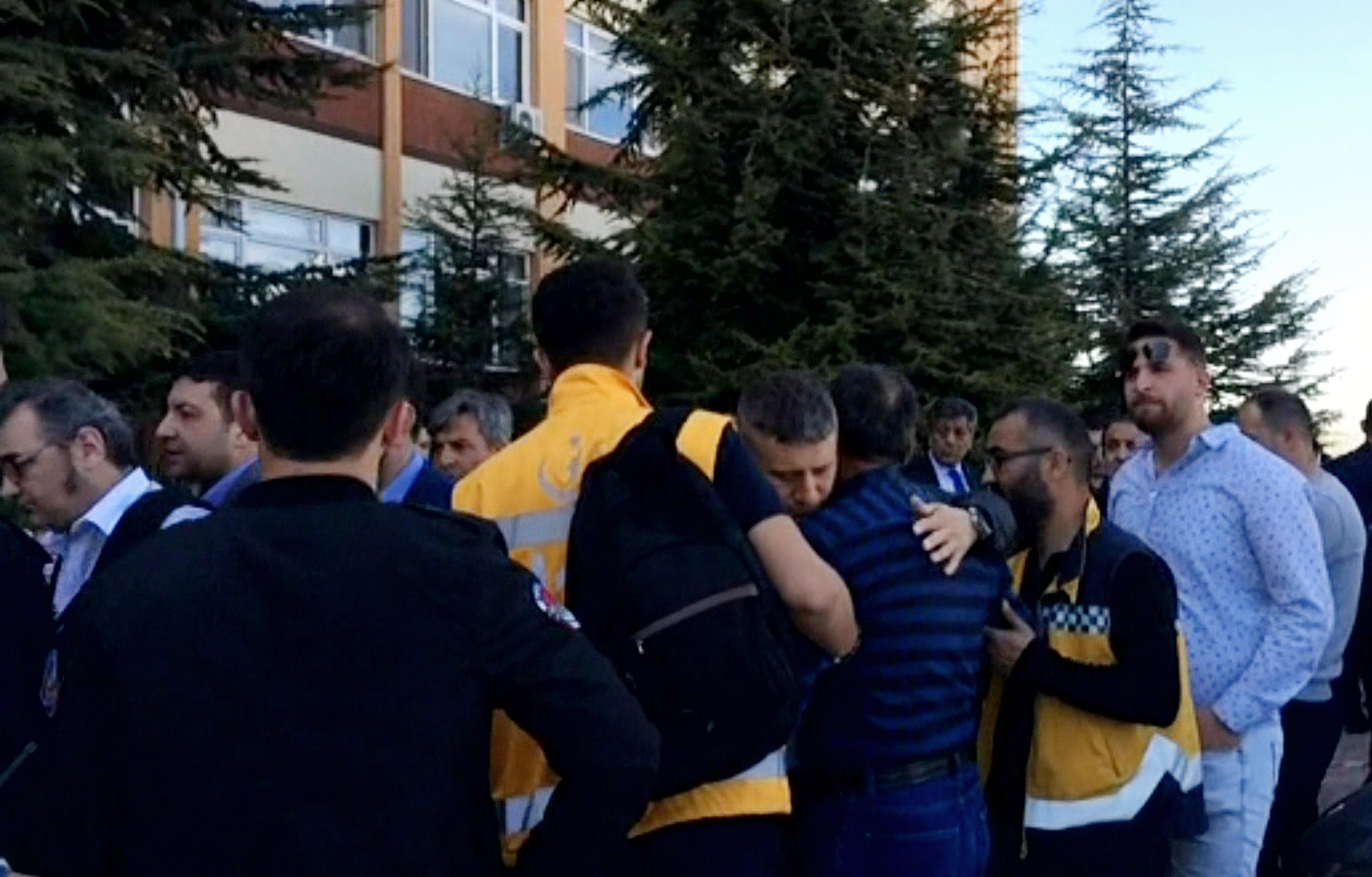 Four staff dead in Turkish university shooting