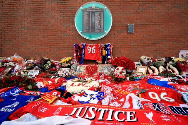 A Hillsborough memorial