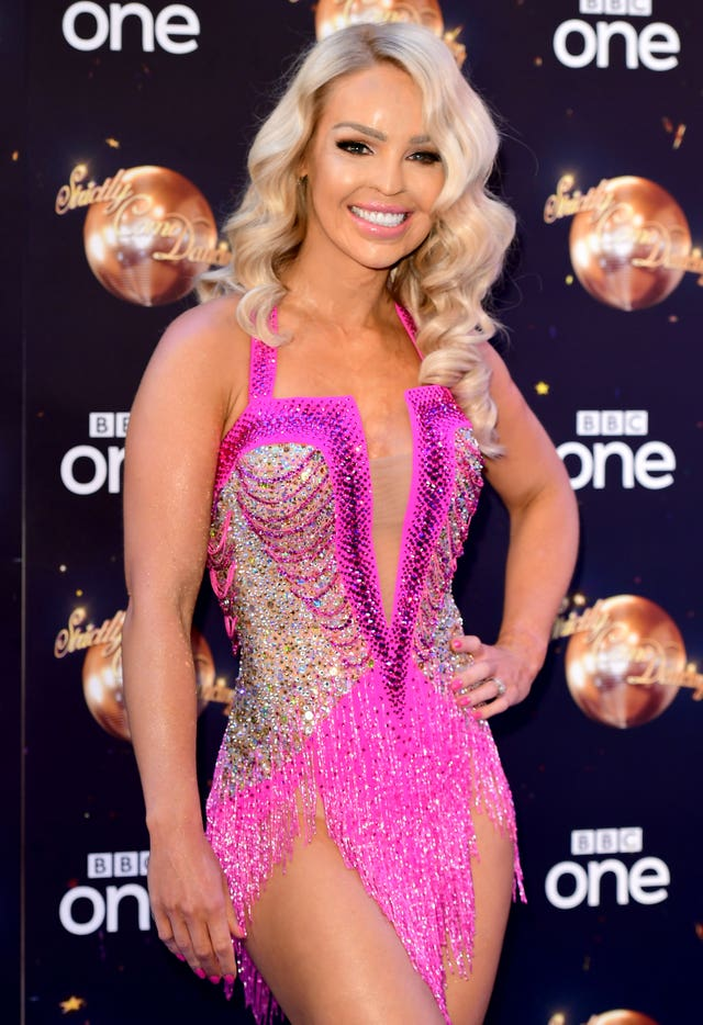 Katie Piper at the Strictly Come Dancing Launch