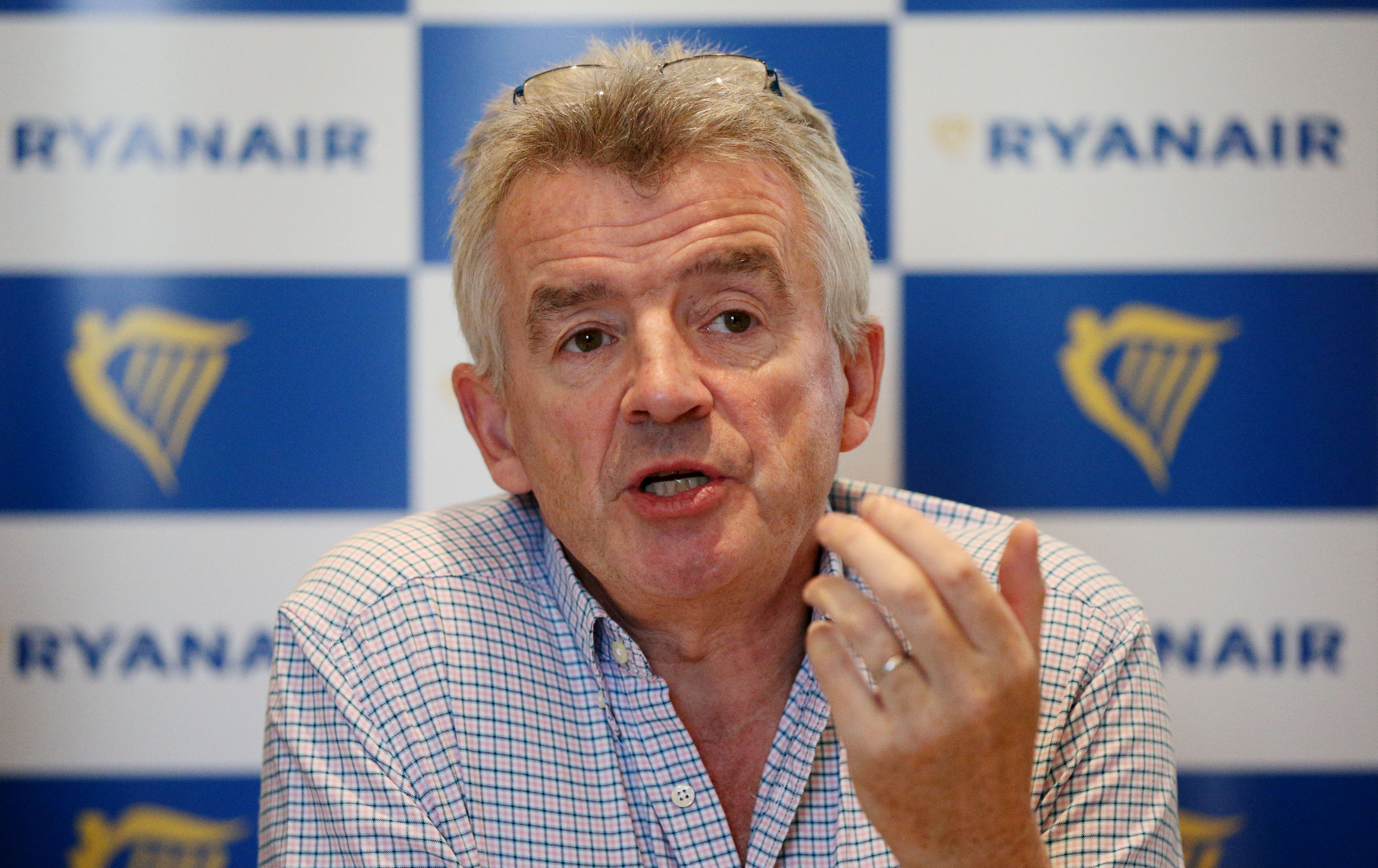 Ryanair's profits crash to a four-year low of £882m