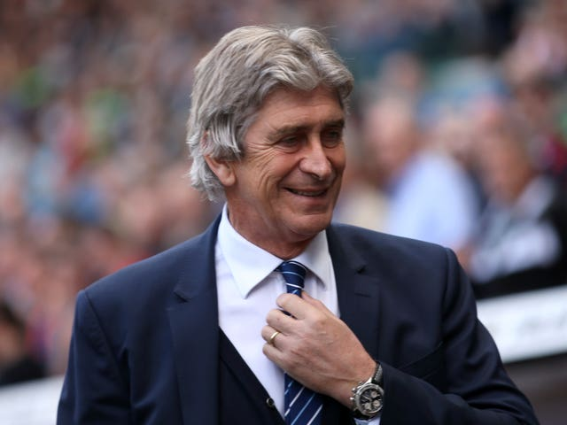 Manuel Pellegrini enjoyed success at Manchester City