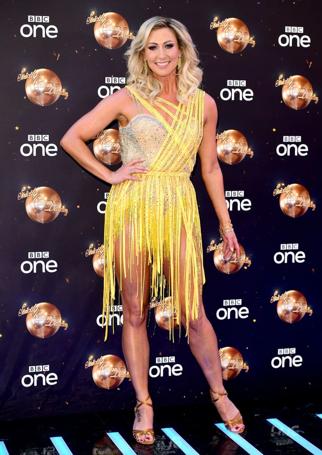 Faye Tozer at the launch of Strictly Come Dancing