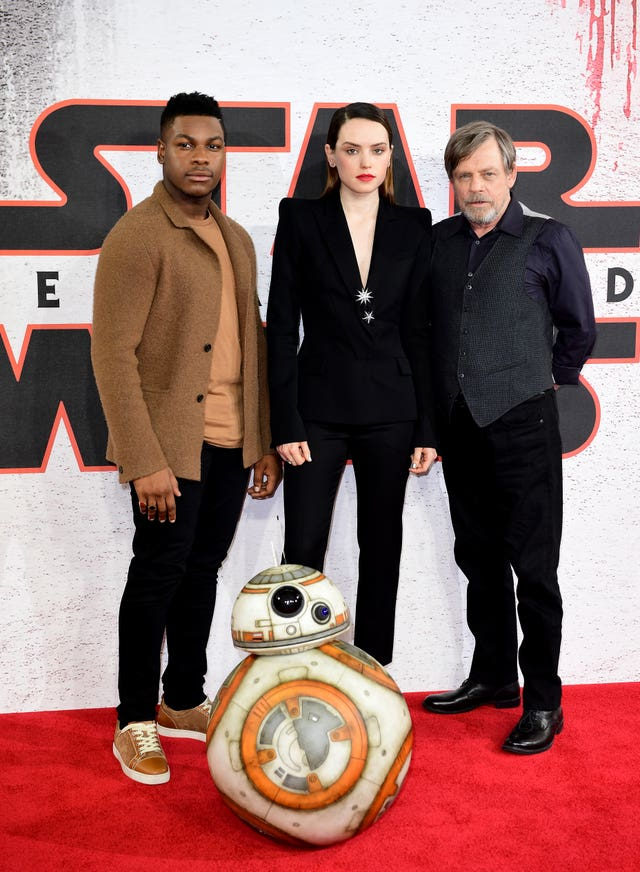 Star Wars: The Last Jedi Photocall – London