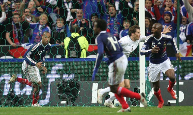 Soccer – FIFA World Cup 2010 – Play Offs – Second Leg – France v Republic of Ireland – Stade de France