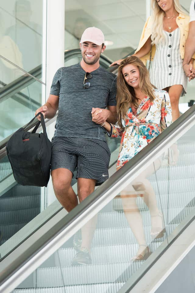 Dani Dyer and Jack Fincham  (Jeff Spicer)