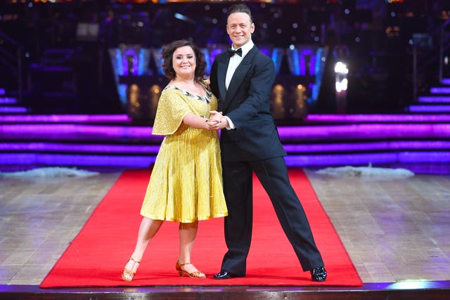 Susan Calman and Kevin Clifton (Joe Giddens/PA)