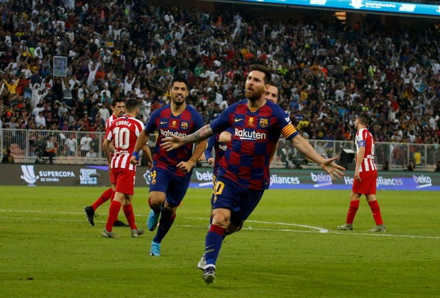 Atletico Madrid beat Barcelona to reach Spanish Super Cup final