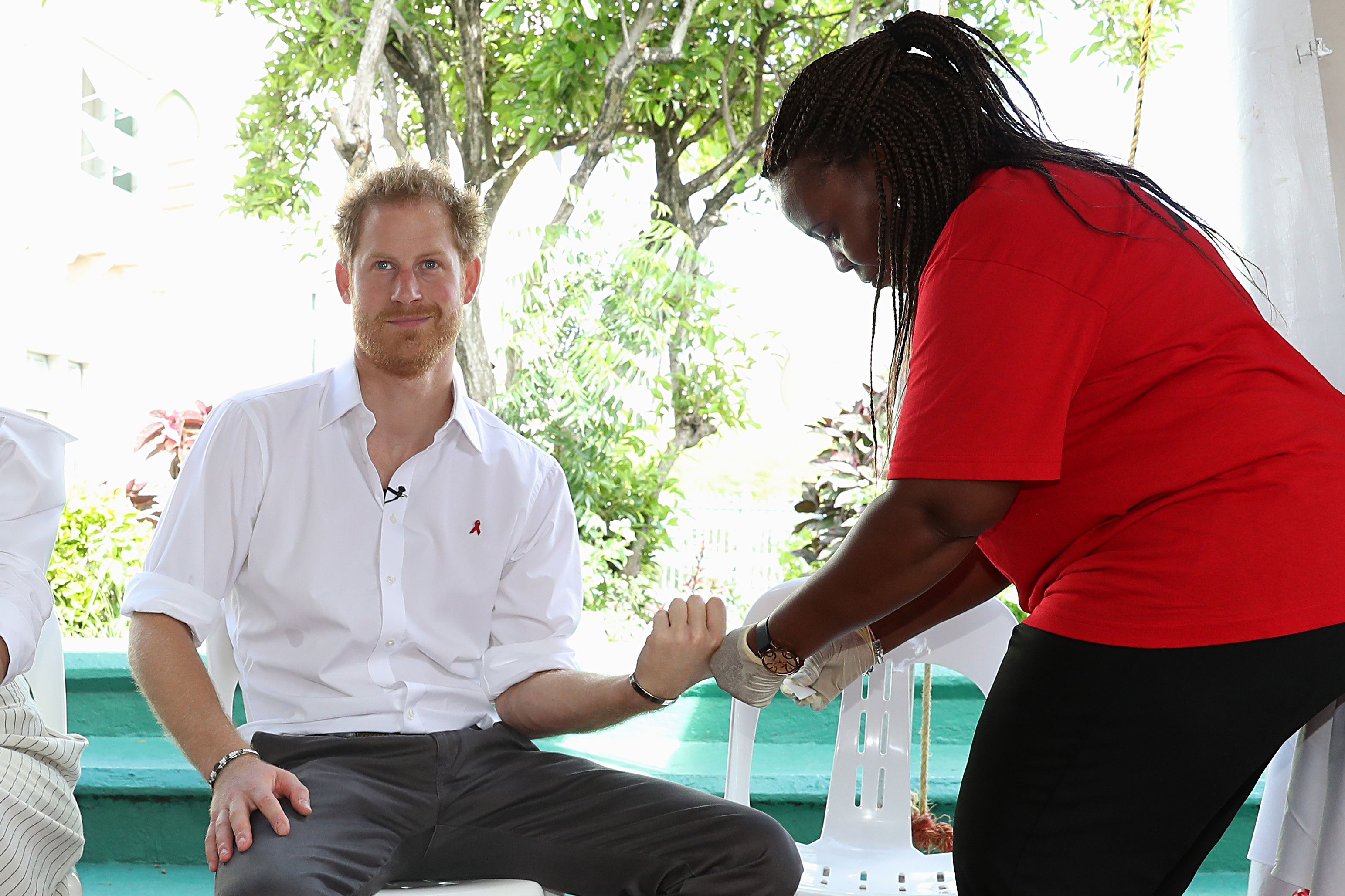 Prince Harry calls for HIV testing to be seen as completely normal