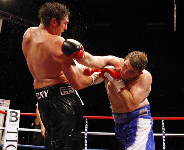 John McDermott still believes he once beat Tyson Fury (Sean Dempsey/PA Images)
