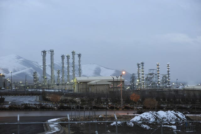 The heavy water nuclear facility near Arak, 150 miles south west of Iran, in 2011