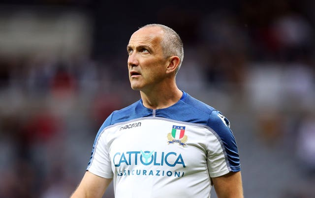 Italy head coach Conor O'Shea felt the margin of defeat was harsh on his side